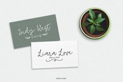 Tilly, a lovely, whimsical, wedding font with bonus clipart Product Image 4