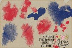 Photoshop Brushes - Grunge Texture Brushes Vol 1 Product Image 4