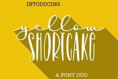 Web Font Yellow Shortcake - A Script & Print Font Pair Product Image 1