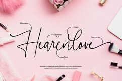 Marchellia - Modern Handwritten Font Product Image 6