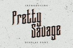 Web Font Pretty Savage Font Product Image 1
