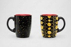 Gold foil Polka dot Black Seamless Pattern Product Image 3
