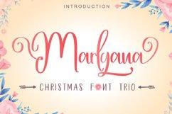 Happy Marlyana font trio Product Image 1