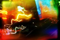 8 files abstract backgrounds from light streams Product Image 4