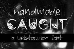 Caught Font for Halloween Cobweb Font Halloween Font OTF TTF Product Image 1