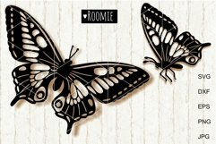 Butterfly SVG, Butterflies vector clipart Cut files papercut Product Image 1
