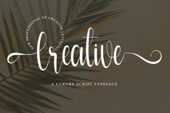 Creative - Modern Script Font Product Image 1