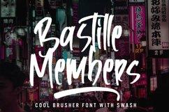 Bastille Members - Cool Brusher Font Product Image 1