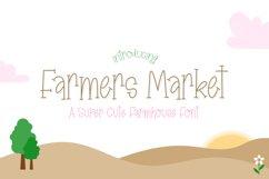 Farmers Market Font Product Image 1