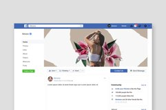 Moody Facebook Cover Templates Product Image 5