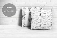 Pigs. Cute vector Stickers & Patterns Christmas graphic Pigs Product Image 3