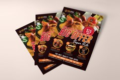 Restaurant Flyer Template Product Image 5