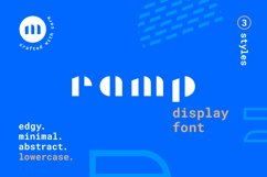Ramp Display Font Product Image 1