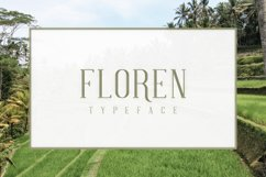 FLOREN TYPEFACE Product Image 1