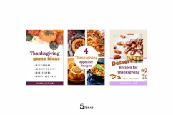 Thanksgiving Scroll Stopping Food Blogger Pinterest Pin Pack Product Image 5