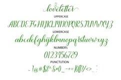 Web Font loveletter Product Image 6
