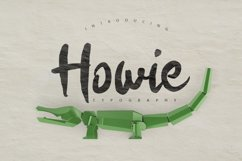 Howie Typeface Product Image 1