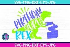 Birthday svg, Boy Three Rex Svg Product Image 1
