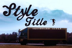 Truck Title Font Product Image 2