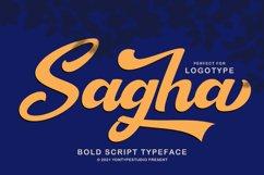 Sagha A Modern Script Typeface Product Image 13