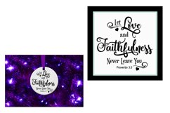 SVG Scripture Bundle, Bible Verse Print and Cutting Files Product Image 4