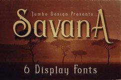 Savana - Display Font Product Image 1