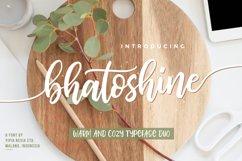 Bhatoshine Font Duo Product Image 1