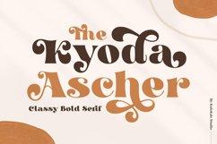 Kyoda Ascher - Classy Bold Serif Product Image 1