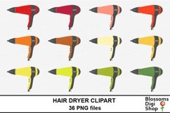 Hair Dryer Clipart Product Image 2