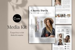 Media Kit Template, 3 Pages, Canva Product Image 1