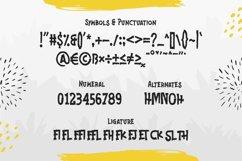 Jonks - A Brush Display Font Product Image 3
