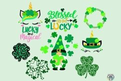 St Patrick's Day svg, Bundle svg, Clover svg, Cricut Files Product Image 2