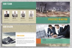 22 Page Corporate Annual Report Brochure Booklet Product Image 3