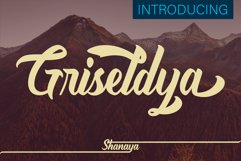 Griseldya Font Product Image 1