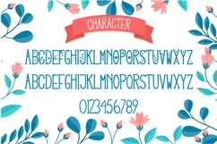 Lovey Dovey Natural Tall Serif Font Product Image 4