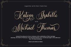 Caliner Script - Wedding Calligraphy Product Image 2