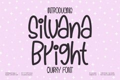 Silvana Bright - Quirky Handwritten Font Product Image 1
