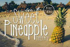 Sweet Pineapple Typeface Product Image 1