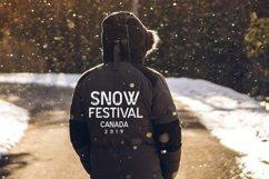 Web Font Snow Drop Product Image 4
