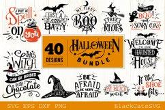 Halloween SVG bundle 40 designs vol 2 Product Image 4