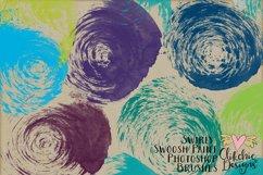 Swirly Swoosh Paint Photoshop Brushes Product Image 3