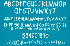Quirky Hand-lettered Font Product Image 4