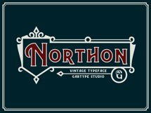 Northon Font and Ornament Product Image 1