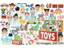 Toys Clipart - Lime and Kiwi Designs Product Image 5