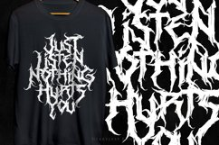 Heartless - Most Wanted Deathmetal Font Product Image 6