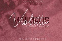 Violitta Signature typeface Product Image 1