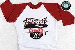 Class of 2020 Graduation Cap SVG Design Cut File for Cricut Product Image 1