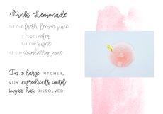 Pink Lemonade - Script Font Product Image 2