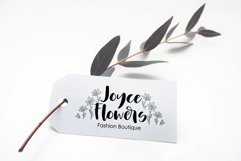 Whitbury, a modern calligraphy script font Product Image 3