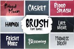 Brush Font Bundle Product Image 1